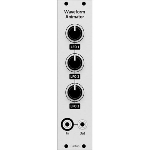barton wave animator, kit, grayscale euro 4hp (KITMBWANMEGRY04) by synthcube.com